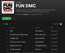 FUN DMC PLAYLIST
