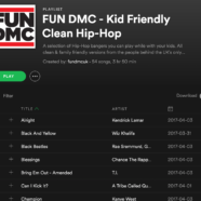 Kid Friendly Hip-Hop Playlist